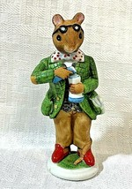 Vintage Professor Plum Woodmouse Family Collection Franklin Mint 1985 - $10.99