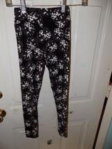 LuLaRoe Disco Ball Leggings Black and White Unicorn Tween RARE EUC - $20.54