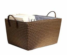 Black Temptation Useful Household Storage Basket Toy Storage Basket Stor... - £26.18 GBP