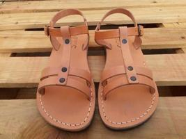 Leather Sandals for Women MAYA by SANDALIM Biblical Greek Roman Sandals - $39.07 CAD+