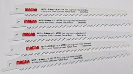 "Magna 88170 6"" x 5/7 TPI Bi-Metal Reciprocating Saw Blades (5 Blades) Swiss - $4.95"