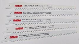 """Magna 88170 6"""" x 5/7 TPI Bi-Metal Reciprocating Saw Blades (5 Blades) Swiss - $4.95"""