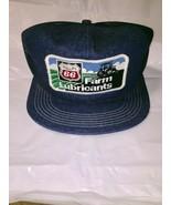Vintage Denim Snapback Trucker Hat Phillips 66 Farm Lubricants Cap K-Brand USA - $171.00