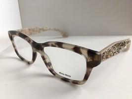New Miu Miu VMU01O UBB-101 54mm Gray Cats Eye Women's Eyeglasses Frame - $299.99