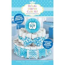 "Deluxe Diaper Cake Decor Kit  Baby Shower ""It's a Boy""  - $15.55"