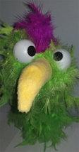 """C3 * Deluxe Custom """"Lime / Purple Bird""""  Sock Puppet * Custom Made - $10.00"""