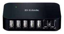 D-Link DUB-H7BL 7 Port USB 2 Hub - $34.65
