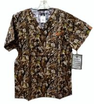 Med Couture XS Peaches Uniforms Unisex Natural Disguise Camo Scrub Set New image 7