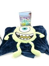 Disney Mike Wazowski Monsters Inc Pillow Case With Book - $7.22