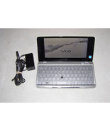 Sony Vaio VGN P90S P Series Lifestyle UMPC Intel Z520 1.33GHz 60GB HDD 2... - $296.95