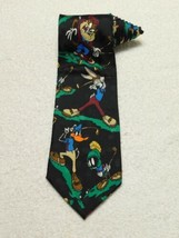 Looney Tunes Mania Golf Golfing Novelty Daffy Marvin Bugs Bunny Taz Neck... - $11.87