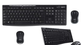 Wireless Keyboard Mouse Set Computer Programmable Hotkeys Full Size - ₹1,687.40 INR
