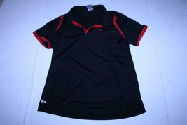 Youth Girls Nike Clima Fit XXL Black & Red Polo S/S - $13.09