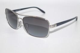 Oakley Sanctuary Sunglasses OO4116-04 Polished Chrome W/ Black Gradient DEFECT - $49.49