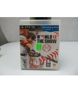 MLB 12 THE SHOW SONY PS3 - $3.00