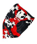 Roberto Cellini Happy Dairy Milk Cows Polyester Tie Necktie - $14.84