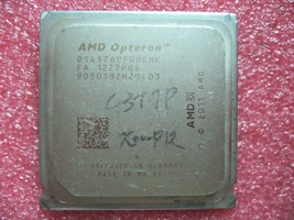 QTY 1x AMD Opteron 4376 HE 2.6 GHz Eight Core (OS4376OFU8KHK) CPU So - $124.00