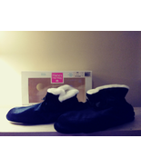 NEW HANES HER WAY BOOTIES SLIPPERS EXTRA CUSHIONED SOLES SIZE LARGE (8-9) - $7.18