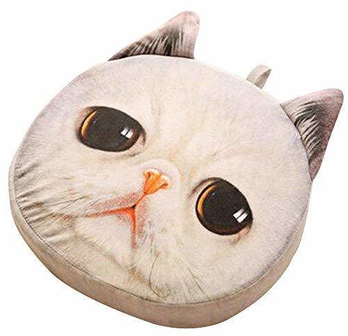 Alien Storehouse Cat Pillow Washable Cushion Christmas Gift Fashion Pillow White - $28.09