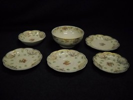 Set Of 6 Mixed Items From Haviland Limoges Scheilger Pattern 72 Plates Bowls - $49.49