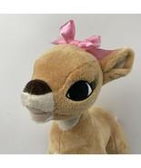 "Dan Dee Rudolph the Red Nosed Reindeer Plush Clarice 15"" Girl Misfit Stu... - $23.33"