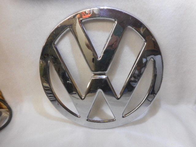 """Vintage VW Volkswagen Bus Nose Emblem 12 1/4"""" Original 1960's"""