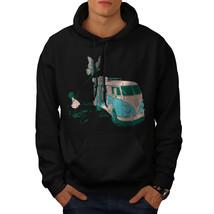 Hippie Bus Sweatshirt Hoody Vintage Van Men Hoodie - $20.99+