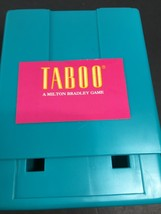 Taboo Game Unspeakable Fun Replacement Card Holder Part Blue Green MB US... - $8.01