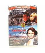 Cry of the Penguins/Indiscretion of an American Wife Dvd - $1.95
