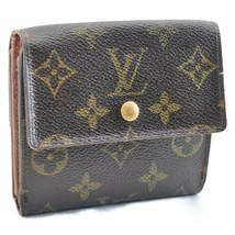 LOUIS VUITTON Monogram Porte Monnaie Billet Carte Credit Wallet M61652 A... - $99.00