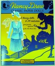 Nancy Drew Classic Paper Dolls paperback 3 dolls 24 costumes - $20.00