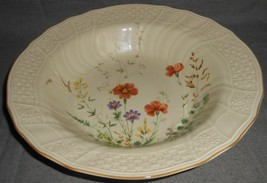 Mikasa Fine Ivory MARGAUX PATTERN Vegetable or Serving Bowl MADE IN JAPAN - $39.59