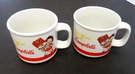 Campbell Boys / Dolls Coffee Mugs Item 31359 2004 M'm! M'm! Good Fleur D... - $12.75