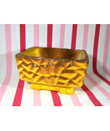 Awesome Faux Pineapple'esque Yellow and Brown Hard Molded Foam Rectangle... - $14.00