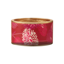 Avon Pink Hope Patterned Wide Bangle Bracelet - $15.99