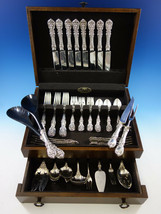 Francis I by Reed & Barton Old Sterling Silver Flatware Set Service 54 pc Dinner - $4,500.00