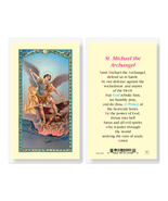 St. Michael the Archangel Laminated Prayer Holy Card 25-Pack - $24.99