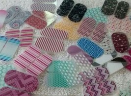 Jamberry Nail Pedicure 10 Packs /20 Wraps Pieces Assorted Mixed Lot New For Toes - $15.47