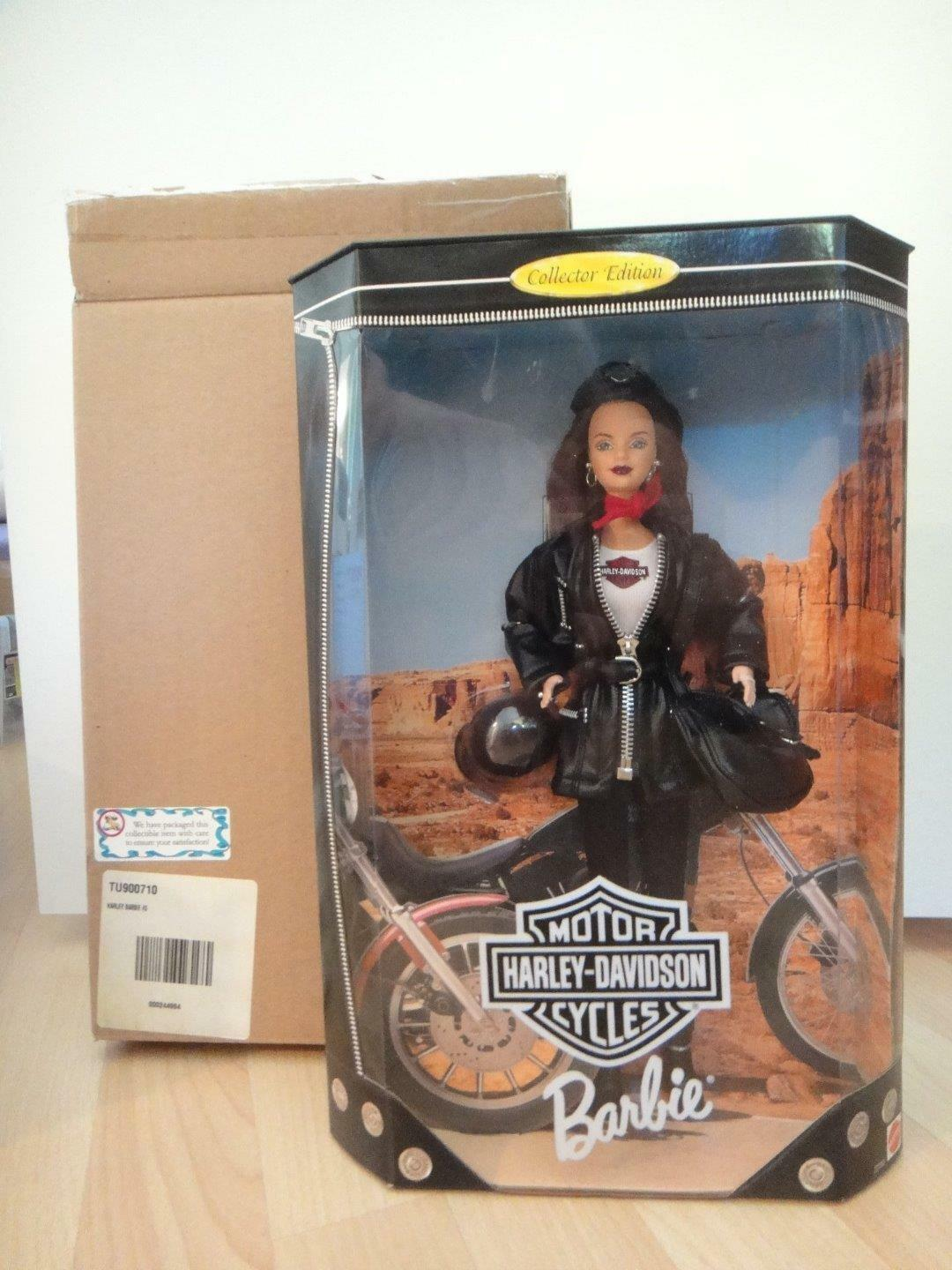 Primary image for Collector Harley Davidson Barbie Doll #3 w/Shipper Mattel 22256  MIB
