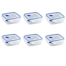 Sterilite 03314706 Ultra-Seal 4 Cup Food Storage Container, See-Through ... - €23,46 EUR
