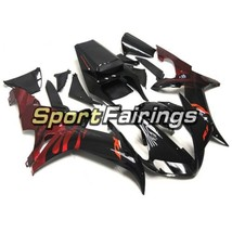 Fairing Kits for Yamaha YZF R1 2002 2003 YZF1000 02 03 Black Candy Red B... - $426.21