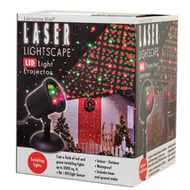 Lasor Lightscape LED Projector Christmas red green twinkle lights Waterproof - $59.39