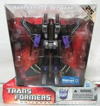 NIB Transformers Universe Robots Masterpiece Skywarp 25 Years WalMart Ha... - $79.99