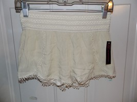 No Boundaries Natural Over Soft Shorts w/ Wide Band Size XS (1) NEW LAST... - $18.63