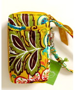 Vera Bradley All in One Wristlet Wallet Cell Phone Case Provencal NWT - $30.00