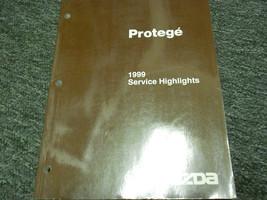 1999 Mazda Protege Servicio Reflejos Manual Libro OEM 99 - $19.56