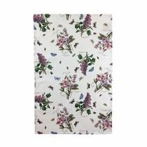 8 X Blume Blumen Schmetterlinge Weiß Grün 100% Cotton Geschirrtuch 45cm ... - $25.94