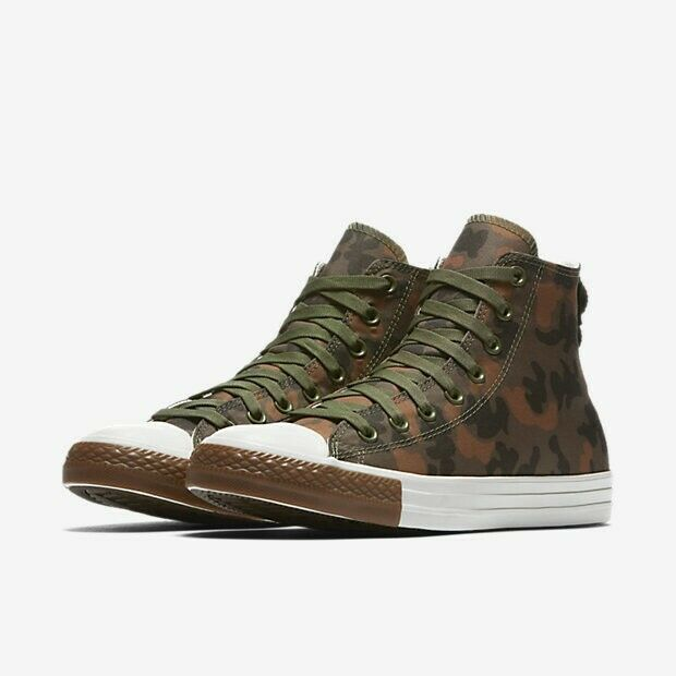 Converse Mens CTAS Hi Cordura Camo 161429C Field Surplus/Egret/Brown Multi Size