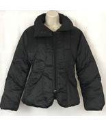 Penny Black Womens Coat Regular Fit Quilted Down Filled Black Full Zip S... - $34.45
