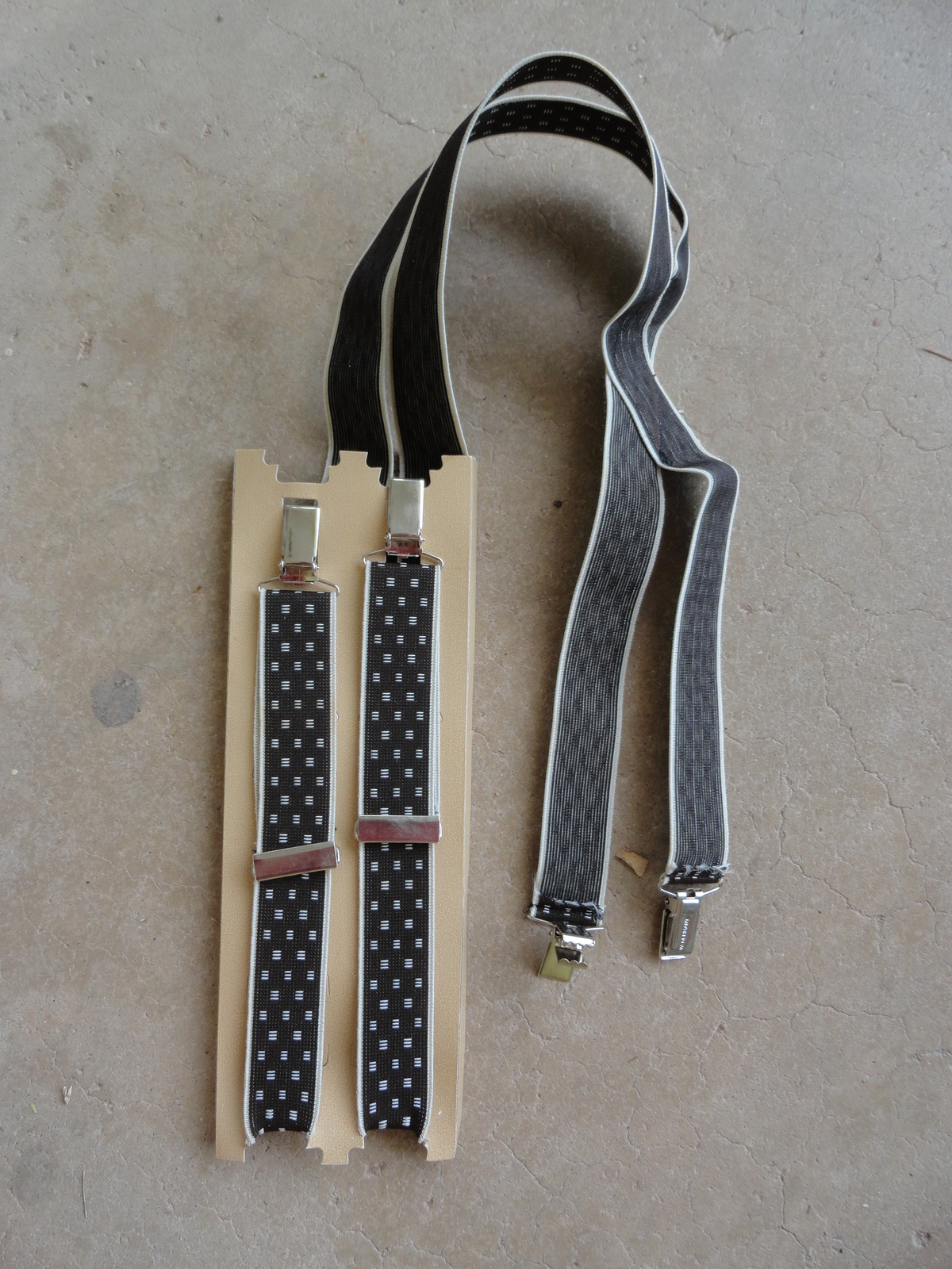 """Vintage Suspenders 40-44"""" by 1"""" image 3"""